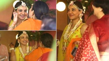 Kajal Aggarwal's a Charming Bride-to-Be, Actress' Pictures from Haldi Ceremony Go Viral