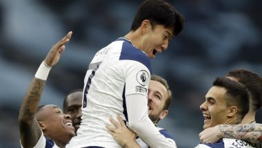 Harry Kane & Son Heung- min Score a Goal & Provide an Assist to Each Other During TOT vs WHU, Premier League Shares a Caricature Inspired by Shah Rukh Khan & Anushka Sharma's 'Jab Harry Met Sejal'