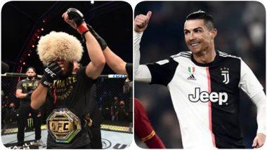 Cristiano Ronaldo Congratulates Khabib Nurmagomedov After Russian MMA Fighter Retires Post His Win at UFC 254