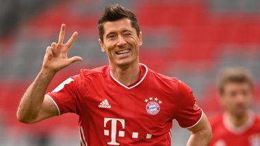 Robert Lewandowski Nets a Hat-Trick During Bayern Munich vs  Eintracht Frankfurt, Bundesliga 2020-21, Becomes Quickest Player To Reach 10-Goal Mark