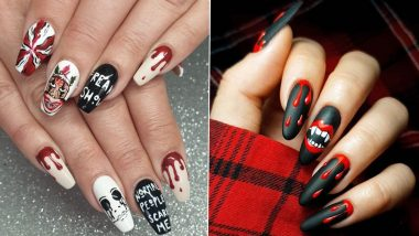 Halloween 2020 Latest Nail Art Designs: From Bloody Nails to Pumpkin-Style Manicure, Spooky Way to Decorate Your Fingernails on October 31