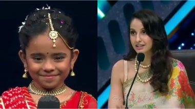 Nora Fatehi Offers Little Girl Her Next International Music Video on India's Best Dancer (Watch Video)