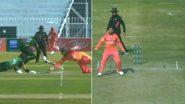 Haris Sohail & Imam Ul Haq's Comical Run-Out During Pakistan vs Zimbabwe 1st ODI 2020 Garners Criticism From Netizens