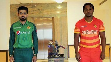 How to Watch PAK vs ZIM 1st ODI 2020 Live Streaming Online in India? Get Free Live Telecast Pakistan vs Zimbabwe Cricket Match Score Updates on TV