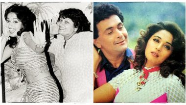 25 Years of Yaraana: Madhuri Dixit Reminisces Working with Rishi Kapoor and Farah Khan, Dedicates this Day to Them (View Tweet)