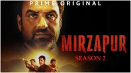 Mirzapur 2 All Episodes in HD Leaked on Telegram & TamilRockers Links for Free Download and Watch Online; Ali Fazal's Amazon Prime Video Web Series Faces Piracy Threat?