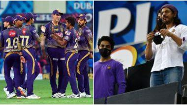 IPL 2020: Shah Rukh Khan Echoes Sachin Tendulkar's Tweet as He Celebrates Kolkata Knight Riders (KKR)'s Win Over Rajasthan Royals