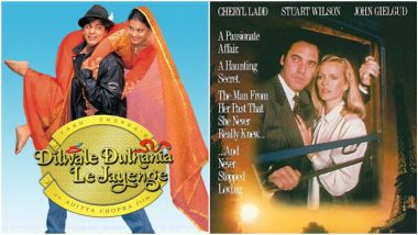 Dilwale Dulhania Le Jayenge Completes 25 Years: When Shah Rukh Khan-Kajol's DDLJ Was Accused of Plagiarising a British Film by the Late Vijay Anand