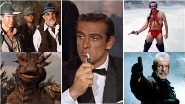 Sean Connery Dies at 90: From James Bond to Henry Jones Sr, 15 Most Iconic Roles of Hollywood Legend That the Movie Fans Will Continue to Cherish!