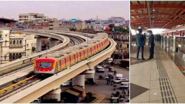Pakistan's First Ever Metro Train Service, Orange Line, Begins Commercial Operation in Lahore