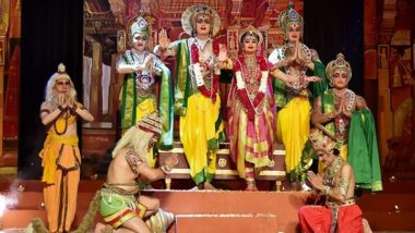 Ramlila Day 9 Live Streaming on DD National: Watch Live Telecast of Ramleela 2020 From Ayodhya on Doordarshan Channel
