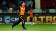 IPL 2021: Rashid Khan Ready for SRH's Opening Game Against KKR (View Post)