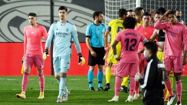 Real Madrid Faces a Shocking 2-3 Defeat Against Shakhtar Donetsk in Champions League 2020-21, Fans Feel Los Blancos Misses Cristiano Ronaldo (Read Tweets)