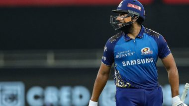 Rohit Sharma Get Special Jersey as He Completes 150 Matches for Mumbai Indians in IPL