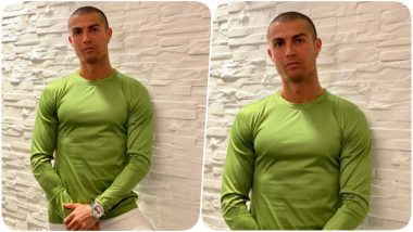 Cristiano Ronaldo Wants his Confidence to do the Talking, Posts Another Picture After Finishing His Quarantine