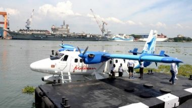 India's First Seaplane Service Inaugurated by PM Narendra Modi in Kevadia; Know Ticket Price, Route and All Other Details