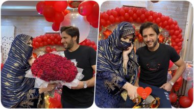 Shahid Afridi Shares Picture With Wife Nadia As Couple Celebrates 20th Wedding Anniversary