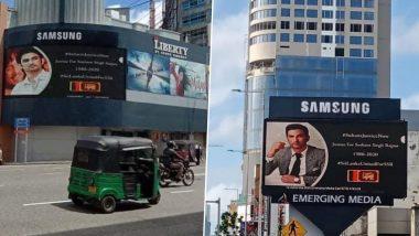 #Justice4SushantSinghRajput: Shweta Singh Kirti Shares Pics Of Billboards Set Up In Sri Lanka Seeking Justice For The Late Actor