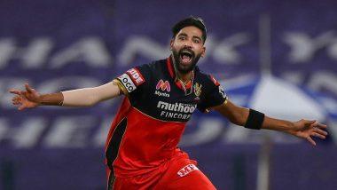KKR vs RCB Stat Highlights IPL 2020: Mohammed Siraj Helps Royal Challengers Bangalore Register Comprehensive Win