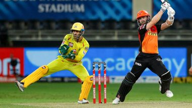 How To Watch CSK vs SRH IPL 2021 Live Streaming Online in India? Get Free Live Telecast Chennai Super Kings vs Sunrisers Hyderabad VIVO Indian Premier League 14 Cricket Match Score Updates on TV
