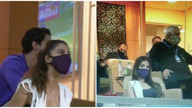 IPL 2020: Shah Rukh Khan's Daughter Suhana Khan Spotted at DC vs KKR Match at Sharjah Cricket Stadium (See Pics)