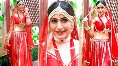 Naagin 5: Surbhi Chandna's Bridal Avatar is Stunning But her Funny Caption Deserves Your Attention (View Pics)