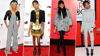 Willow Smith Birthday: Spunky, the Word that Resonates with her Fashion Wardrobe (View Pics)