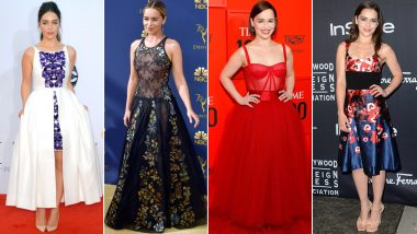 Emilia Clarke Birthday Special: Charming With a Tint of Sassy, Her Wardrobe is as Gorgeous as it Can Be (View Pics)