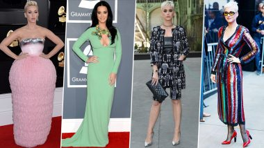 Katy Perry Birthday Special: Quirky and Charming, her Fashion Choices are a Healthy Blend of Both (View Pics)