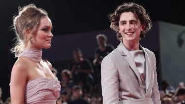 Timothée Chalamet Talks About Viral Kissing Pictures With Lilly Rose-Depp