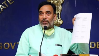 Delhi Govt to Launch 'Red Light On, Gaadi Off' Ground Campaign From October 21 to November 15: Gopal Rai