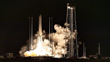 SS Kalpana Chawla Cygnus Spacecraft, Carrying Cargo and Supplies to International Space Station, Launched From NASA's Wallops Flight Facility in Virginia
