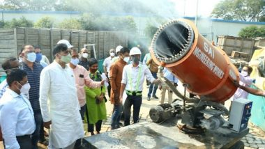 Gopal Rai, Delhi Environment Minister, Monitors Demolition Work at Pragati Maidan and FICCI, Instructs to Follow Measures to Stop Dust-Pollution