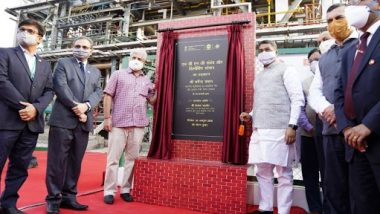 Delhi Transport Minister Kailash Gahlot Inaugurates HCNG Plant and Dispensing Station
