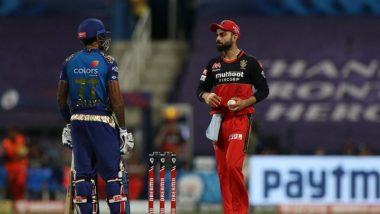 Virat Kohli Attempts to Sledge Suryakumar Yadav During MI vs RCB, IPL 2020, Netizens Blast at RCB Captain for his Behaviour (Watch Video)