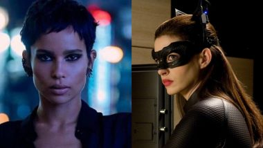 Anne Hathaway Talks About Zoe Kravitz Playing Catwoman: She Was a Perfect Choice