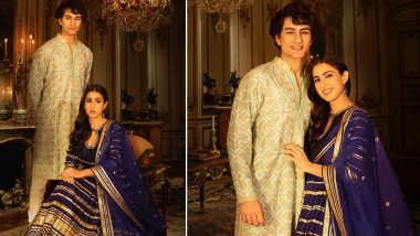 Sara Ali Khan Shares Regal Pictures With 'Iggy Potter' Brother Ibrahim Ali Khan As She Misses Him on Bhai Dooj (View Post)