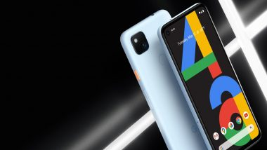 Google Pixel 4a Barely Blue Colour Variant Launched; Check Price & Other Details