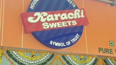 Karachi Sweets Row: Shiv Sena Leader Orders Shop to Drop 'Karachi' Name; 'Not Our Official Stand' Clarifies Sanjay Raut