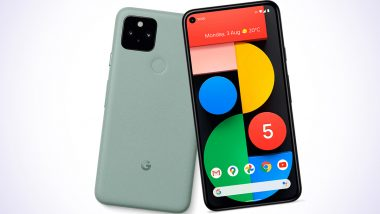 Google Pixel 6 Smartphone Likely to Come With Under Display Selfie Camera: Report