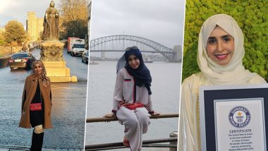 Dr Khawla AlRomaithi From UAE Visits 208 Countries Across All 7 Continents in Record-Breaking Time of Less Than 87 Hours (View Pics)