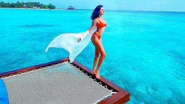 Tara Sutaria Celebrates her Birthday by Slipping Into an Orange Bikini While Enjoying the Bliss of the Maldives