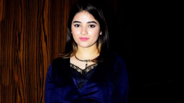 Zaira Wasim, Former Actress, Requests Fans To Take Down Her Pictures From Social Media Accounts