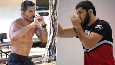 Islam Makhachev Pulls Out of UFC Vegas 14 Main Event Due to Undisclosed Injury; Khabib Nurmagomedov's Former AKA Teammate Luis Pena Challenges Rafael Dos Anjos