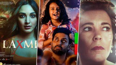 OTT Releases Of The Week: Akshay Kumar's Laxmii, Abhishek Bachchan's Ludo, The Crown Season 4, Suriya's Soorarai Pottru, Rajkummar Rao's Chhalaang and More