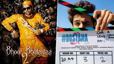 Kartik Aaryan Birthday Special: From Bhool Bhulaiyaa 2 to Dostana 2, Every Upcoming Movie of the Luka Chuppi Actor