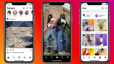 Facebook Owned Instagram Gets Reels & Shop Tabs on Home Screen