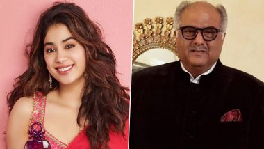 Janhvi Kapoor Wishes Father Boney Kapoor a Happy Birthday With a Cute Throwback Post