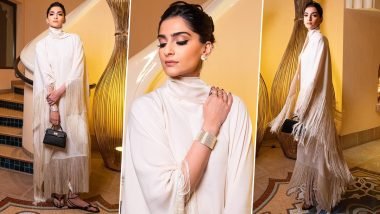 Yo or Hell No? Sonam Kapoor's Stunning Kaftan from the House of Taller Marmo
