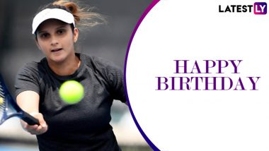 Sania Mirza Birthday Special: A Look At Biggest Career Achievements of the Indian Tennis Icon